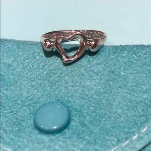 Tiffany & Co. Jewelry - Tiffany & Co Elsa Peretti Open Heart Ring